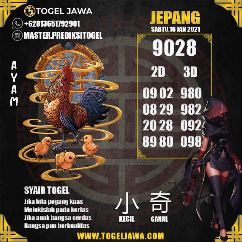 Prediksi Japan Tanggal 2021-01-16
