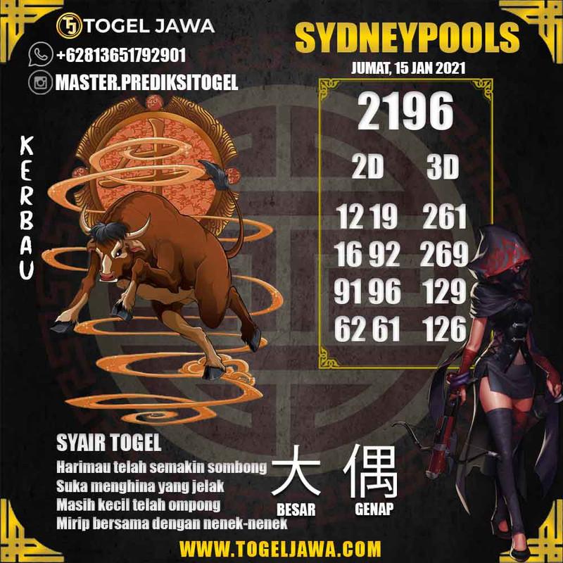 Prediksi Sydney Tanggal 2021-01-15