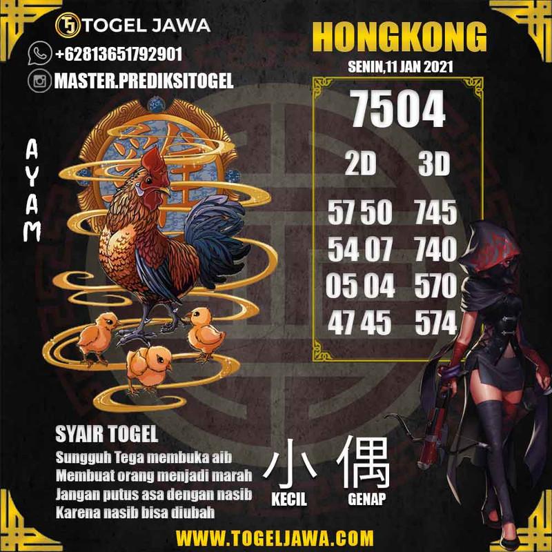 Prediksi Hongkong Tanggal 2021-01-11
