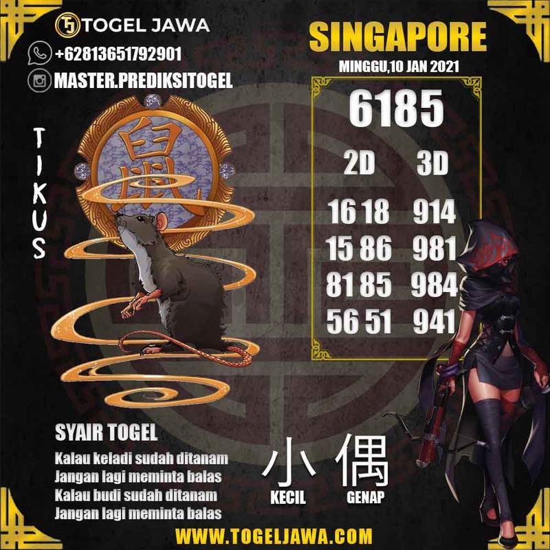 Prediksi Singapore Tanggal 2021-01-10