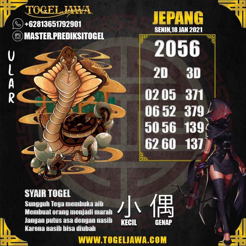 Prediksi Japan Tanggal 2021-01-18