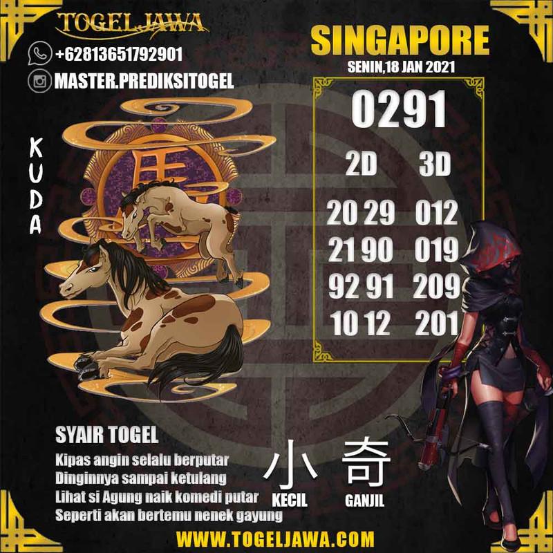 Prediksi Singapore Tanggal 2021-01-18