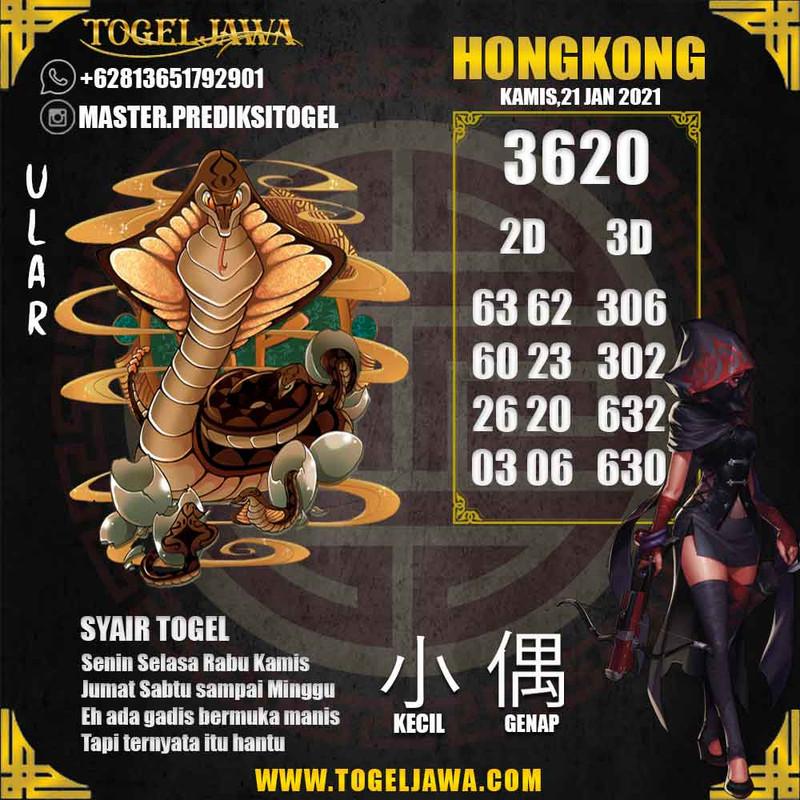 Prediksi Hongkong Tanggal 2021-01-21