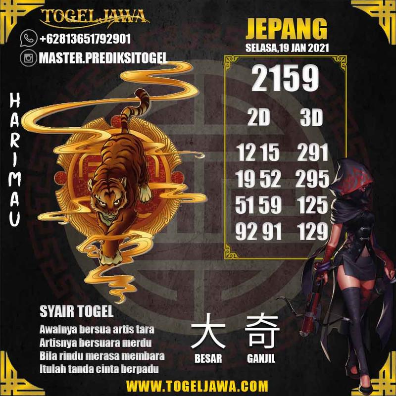 Prediksi Japan Tanggal 2021-01-19