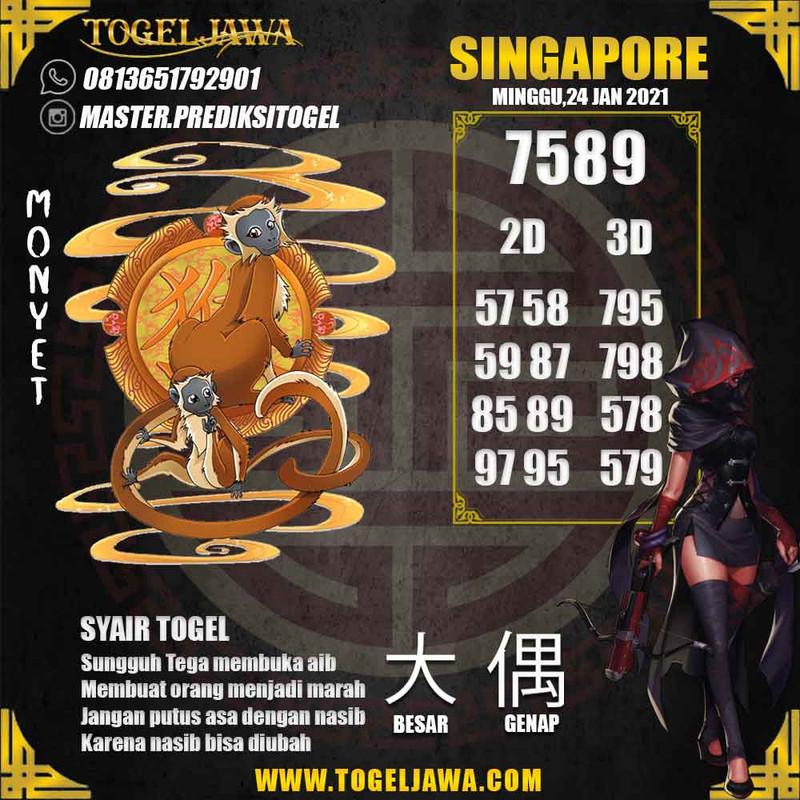 Prediksi Singapore Tanggal 2021-01-24