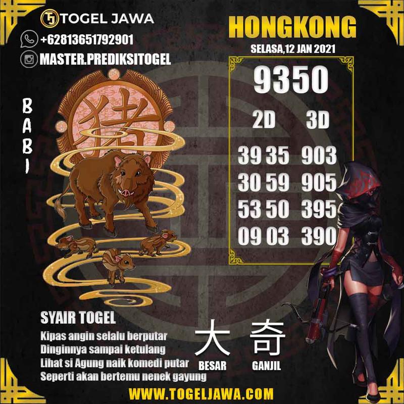 Prediksi Hongkong Tanggal 2021-01-12