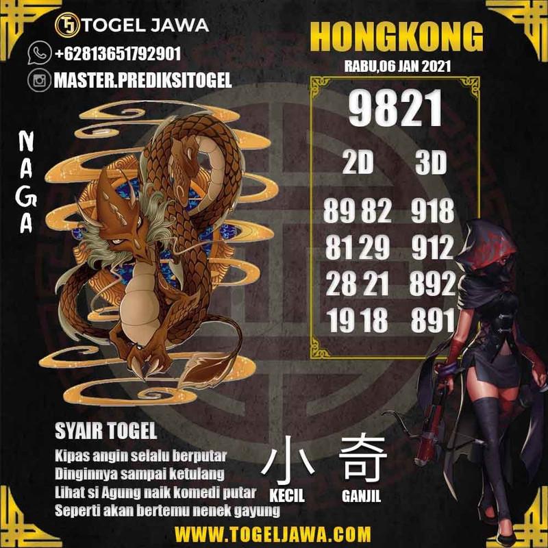 Prediksi Hongkong Tanggal 2021-01-06