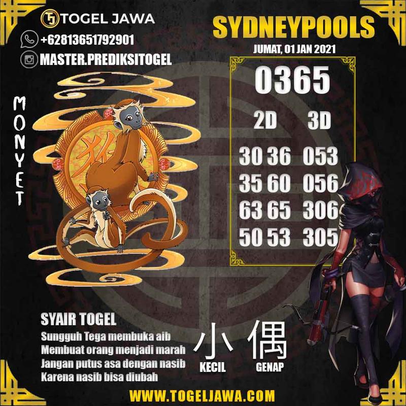 Prediksi Sydney Tanggal 2021-01-01
