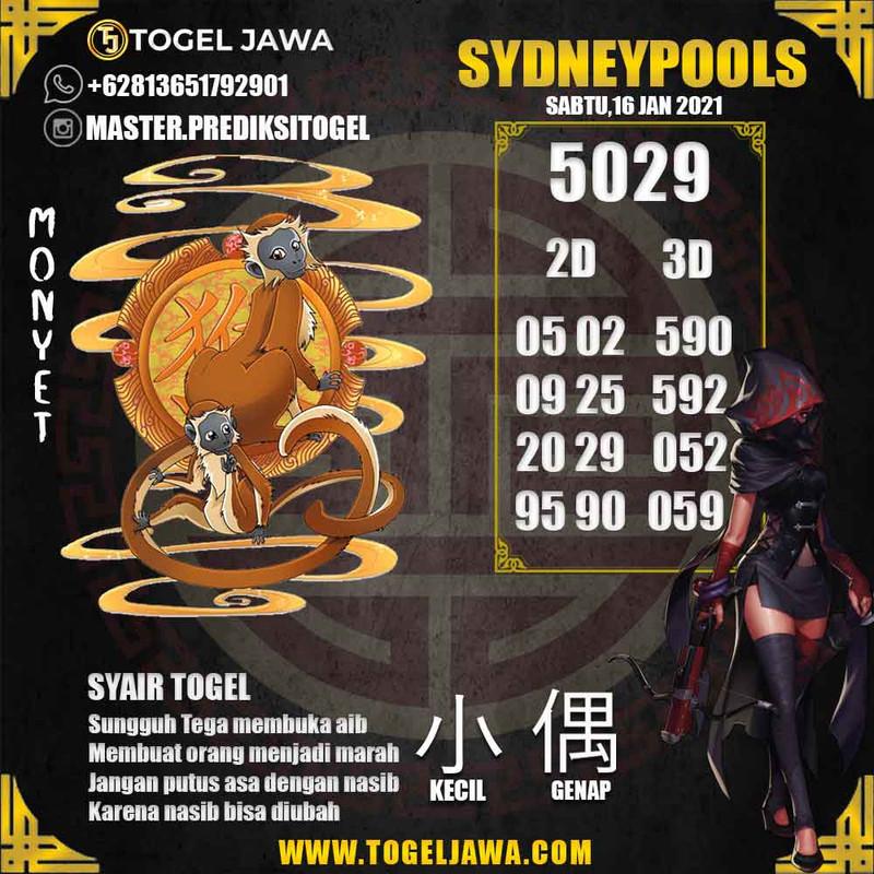 Prediksi Sydney Tanggal 2021-01-16
