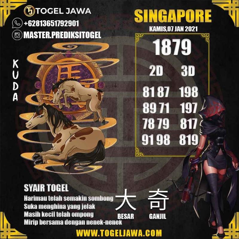 Prediksi Singapore Tanggal 2021-01-07