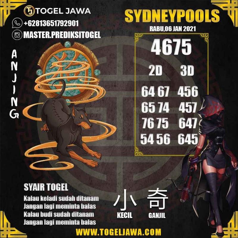 Prediksi Sydney Tanggal 2021-01-06