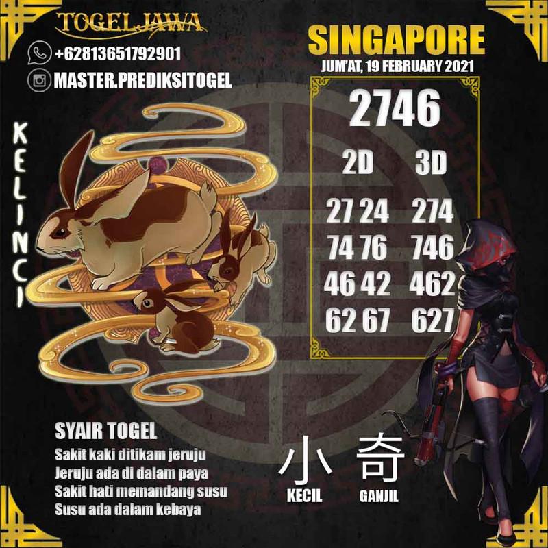 Prediksi Singapore Tanggal 2021-02-19