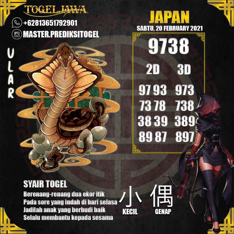 Prediksi Japan Tanggal 2021-02-20