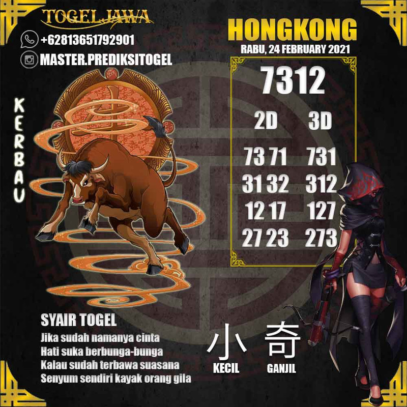 Prediksi Hongkong Tanggal 2021-02-24