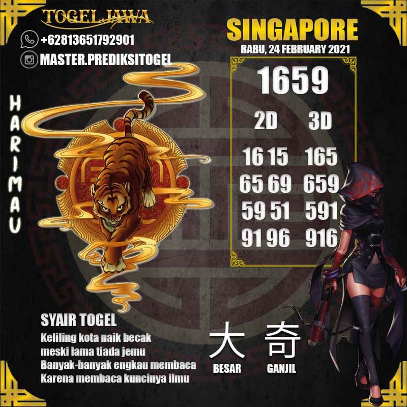 Prediksi Singapore Tanggal 2021-02-24