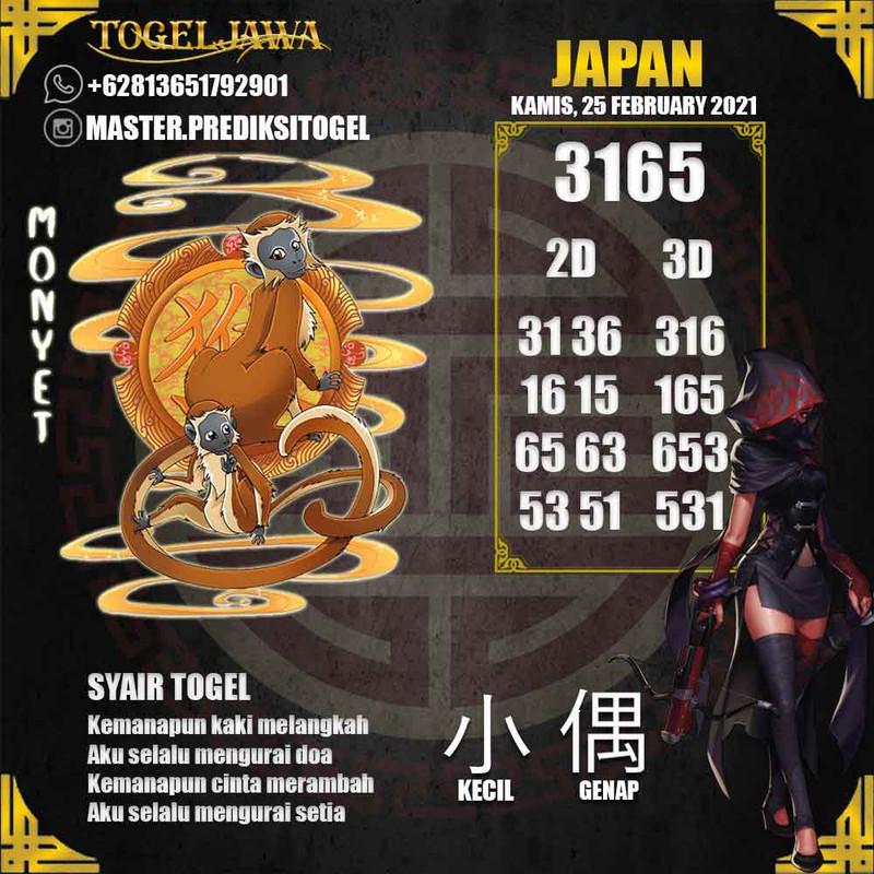 Prediksi Japan Tanggal 2021-02-25