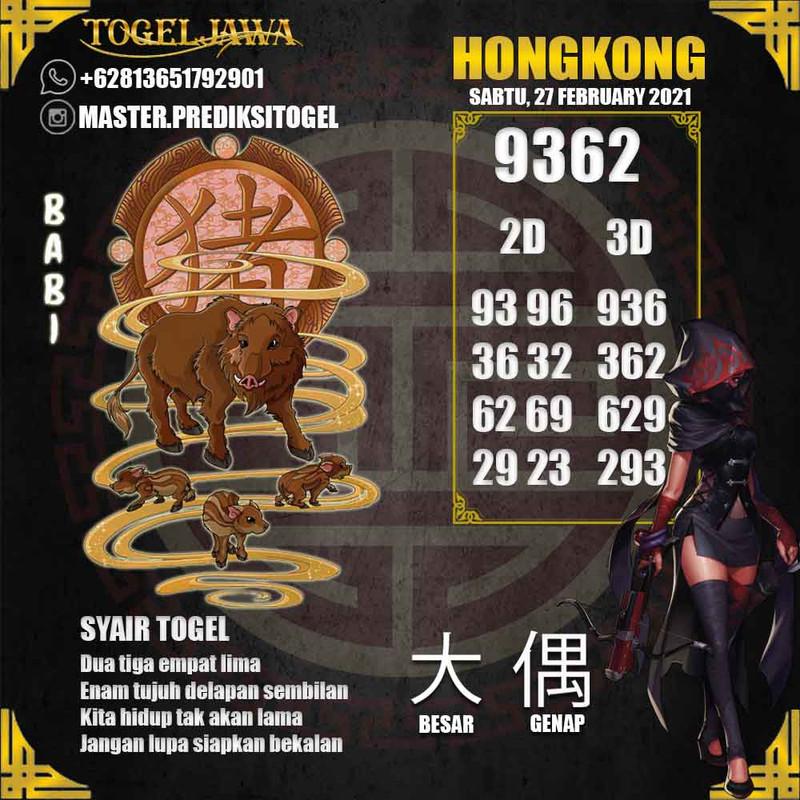 Prediksi Hongkong Tanggal 2021-02-27