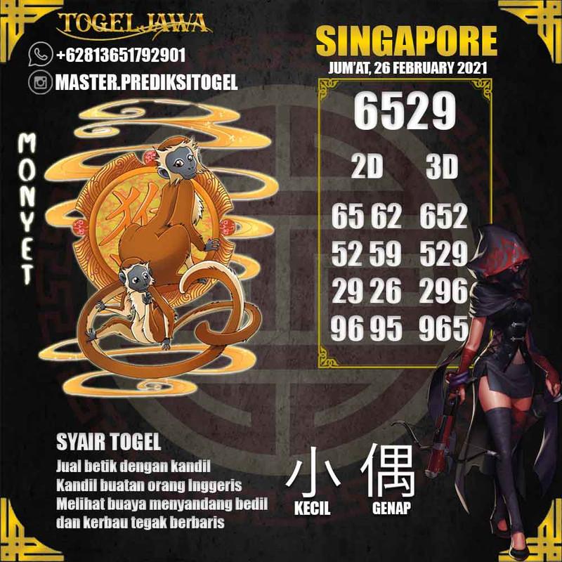 Prediksi Singapore Tanggal 2021-02-26