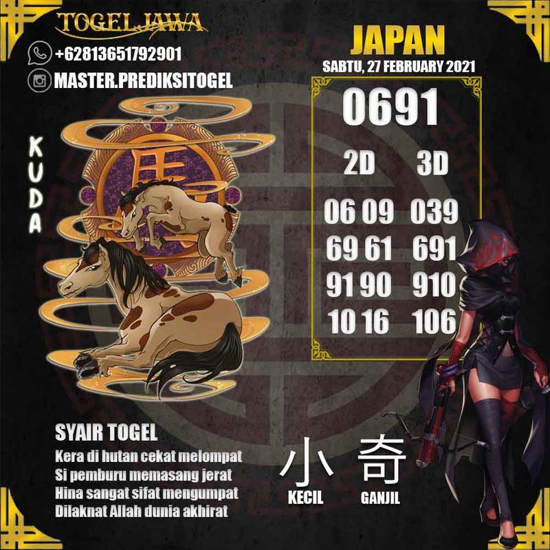 Prediksi Japan Tanggal 2021-02-27
