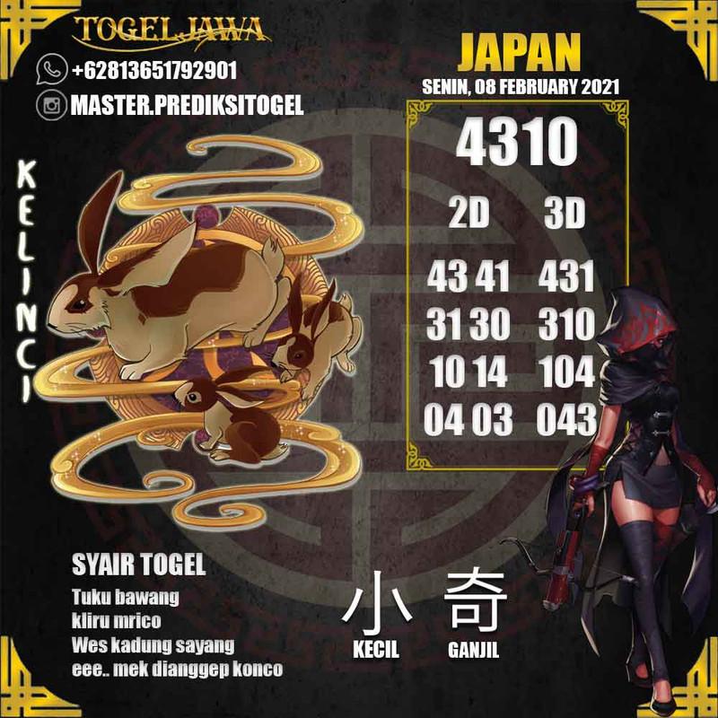 Prediksi Japan Tanggal 2021-02-08