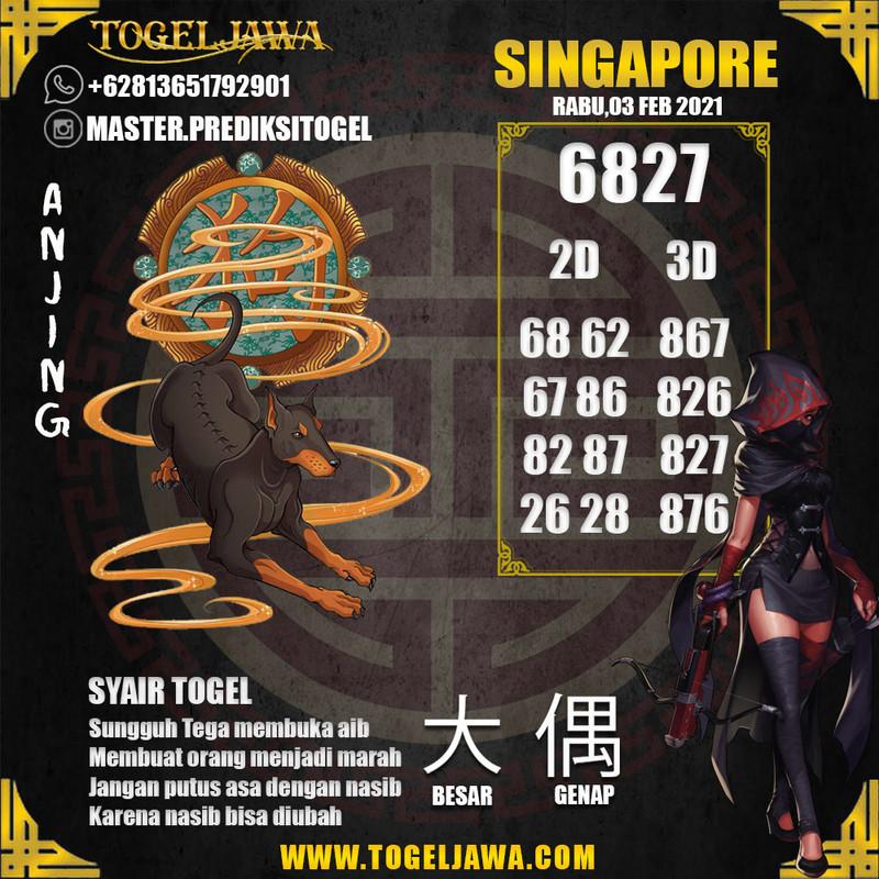 Prediksi Singapore Tanggal 2021-02-03