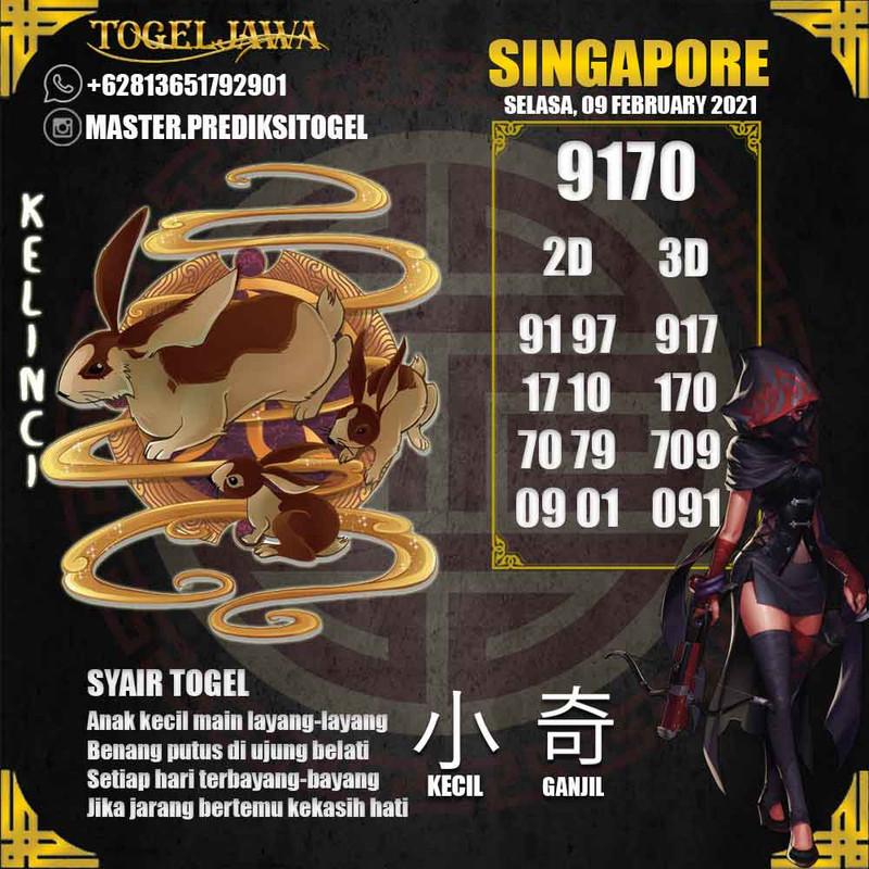 Prediksi Singapore Tanggal 2021-02-09