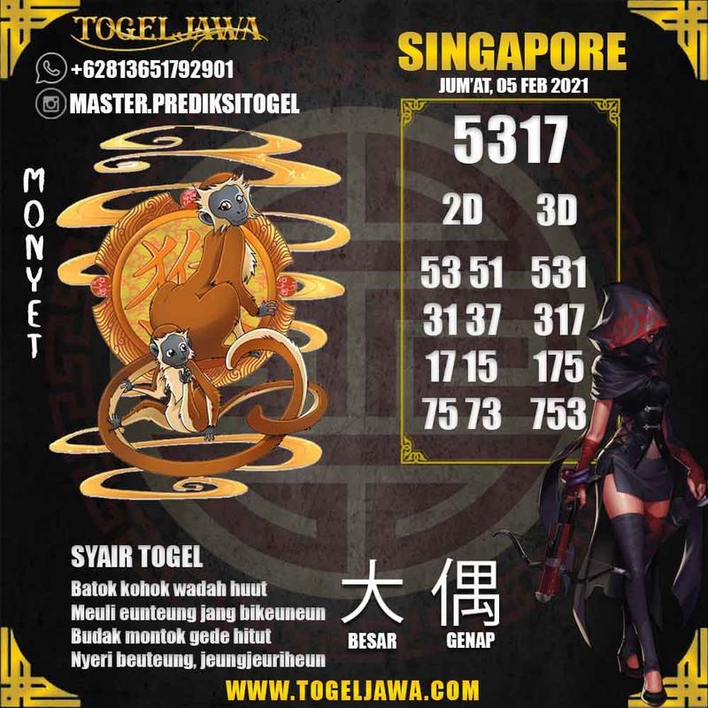 Prediksi Singapore Tanggal 2021-02-05
