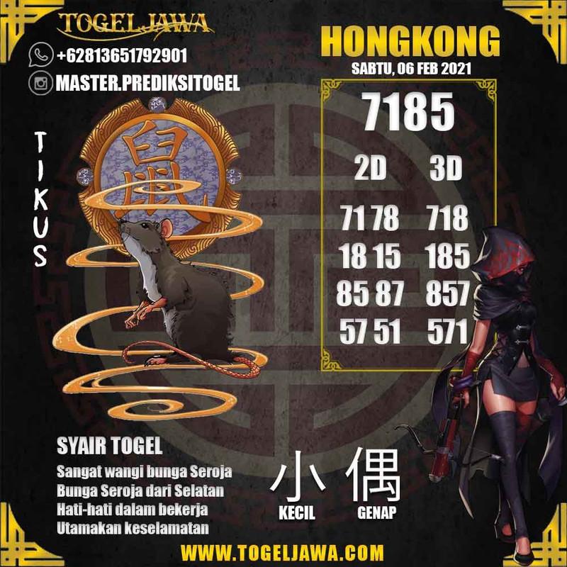 Prediksi Hongkong Tanggal 2021-02-06