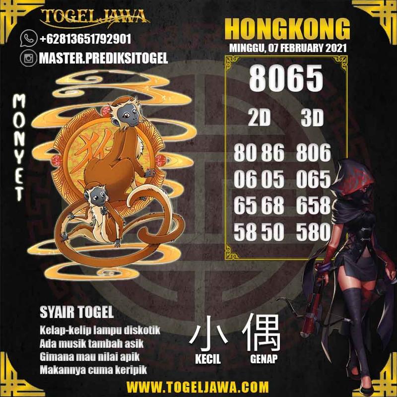 Prediksi Hongkong Tanggal 2021-02-07
