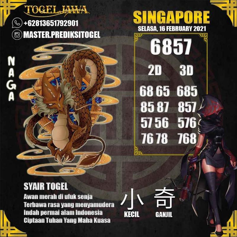 Prediksi Singapore Tanggal 2021-02-16
