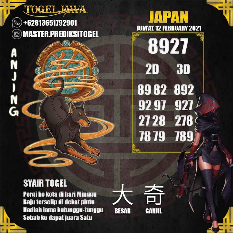 Prediksi Japan Tanggal 2021-02-12