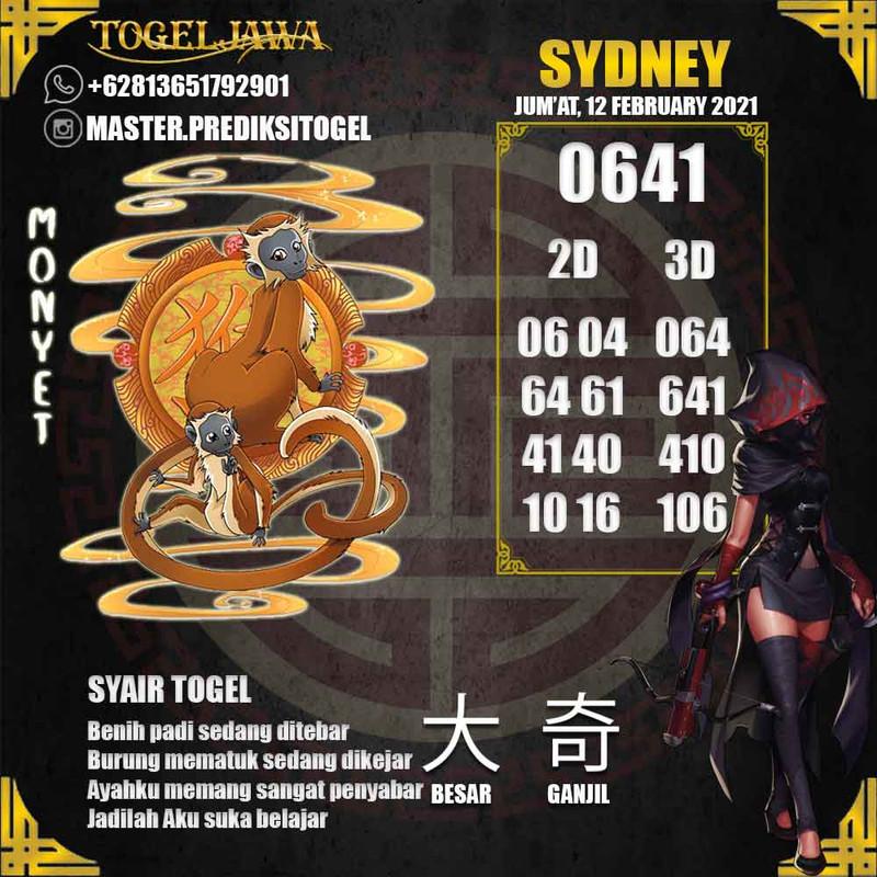 Prediksi Sydney Tanggal 2021-02-12
