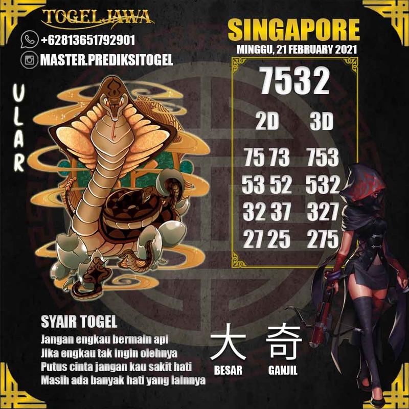 Prediksi Singapore Tanggal 2021-02-21
