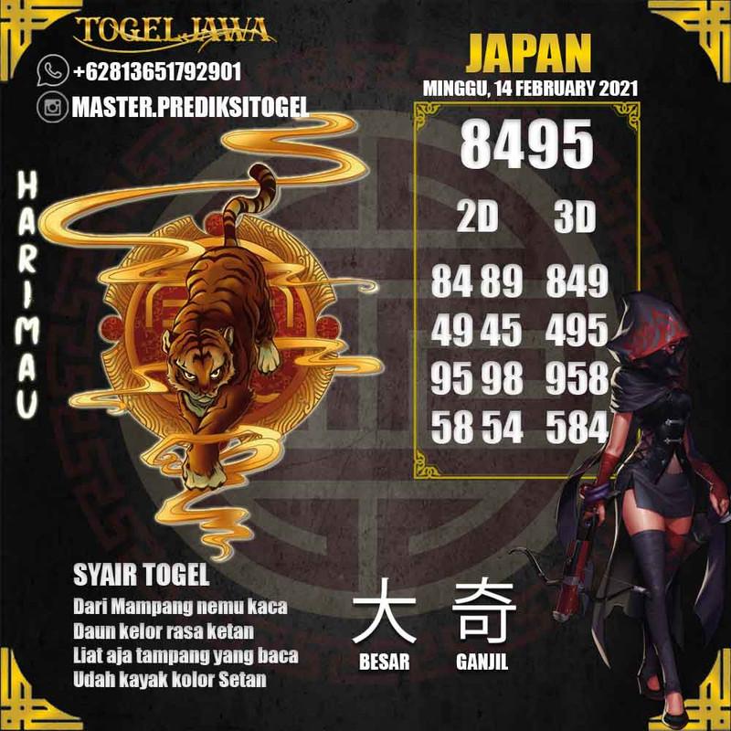 Prediksi Japan Tanggal 2021-02-14