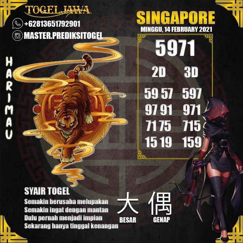 Prediksi Singapore Tanggal 2021-02-14