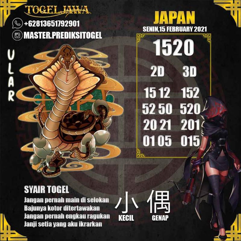 Prediksi Japan Tanggal 2021-02-15
