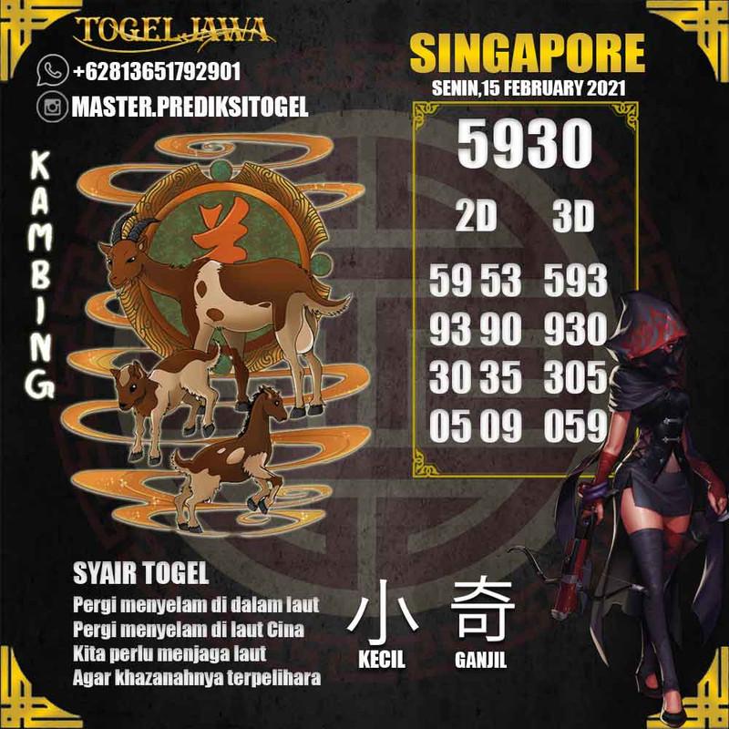 Prediksi Singapore Tanggal 2021-02-15