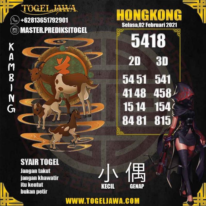 Prediksi Hongkong Tanggal 2021-02-02