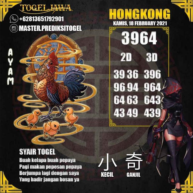 Prediksi Hongkong Tanggal 2021-02-18