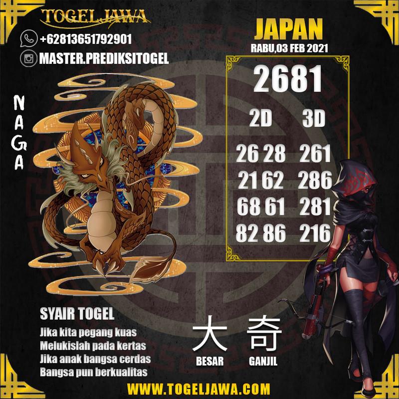Prediksi Japan Tanggal 2021-02-03