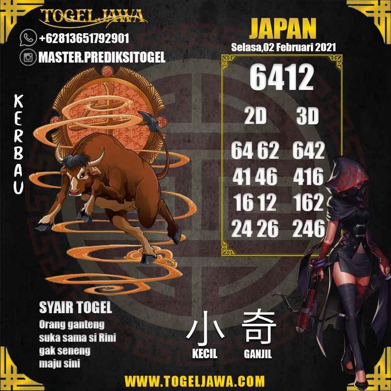 Prediksi Japan Tanggal 2021-02-02