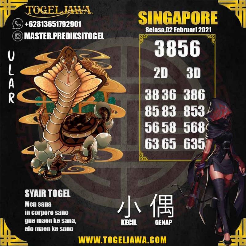 Prediksi Singapore Tanggal 2021-02-02