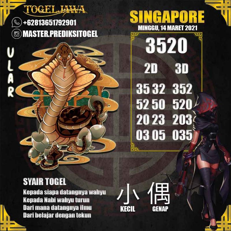 Prediksi Singapore Tanggal 2021-03-14