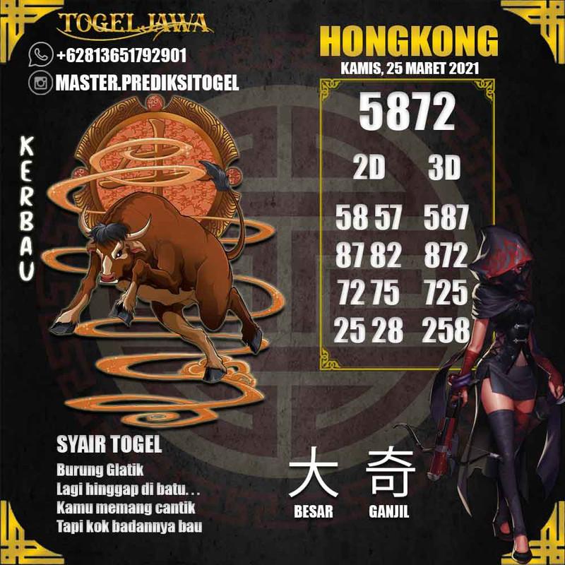 Prediksi Hongkong Tanggal 2021-03-25