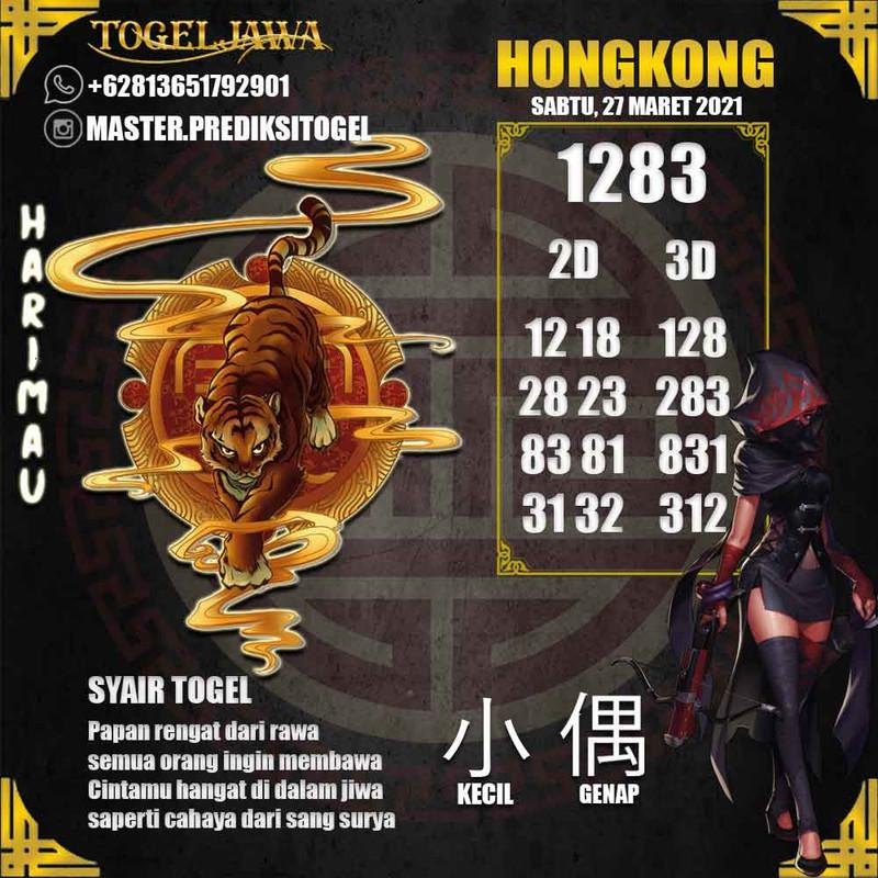 Prediksi Hongkong Tanggal 2021-03-27