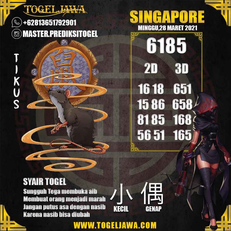Prediksi Singapore Tanggal 2021-03-28