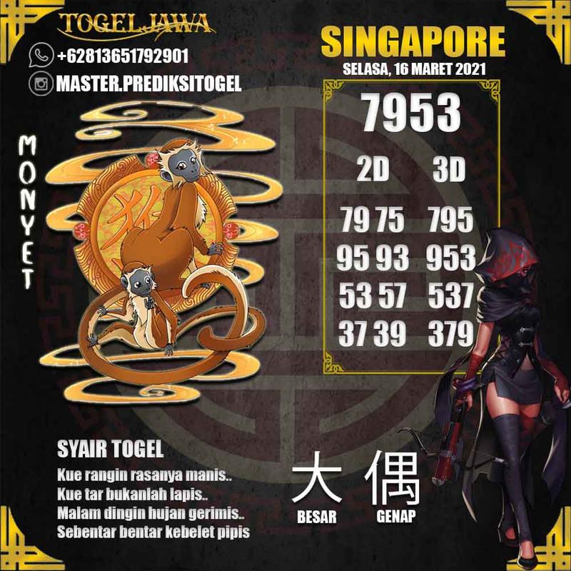 Prediksi Singapore Tanggal 2021-03-16
