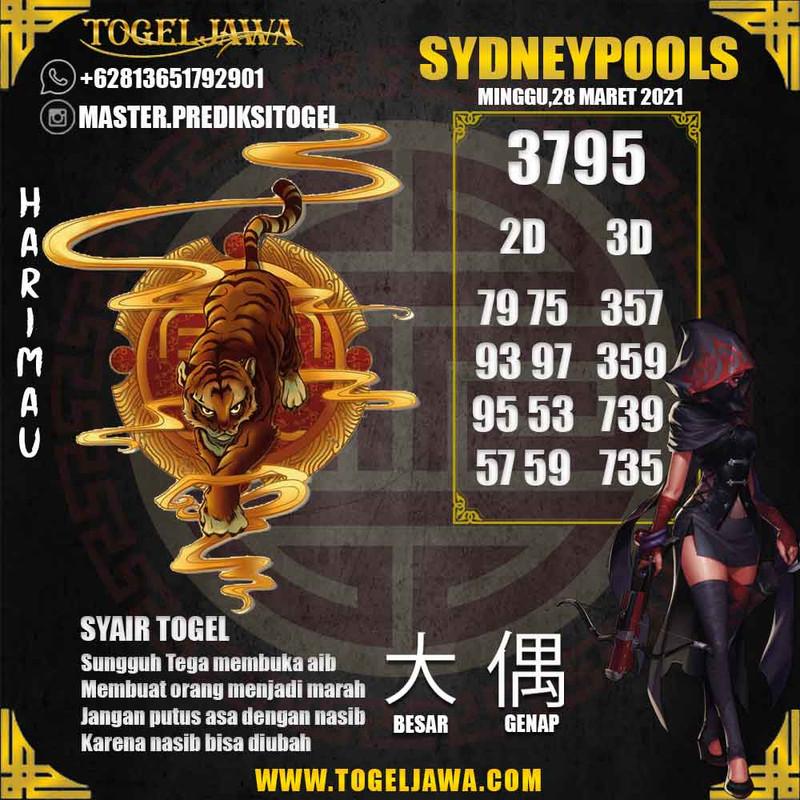 Prediksi Sydney Tanggal 2021-03-28