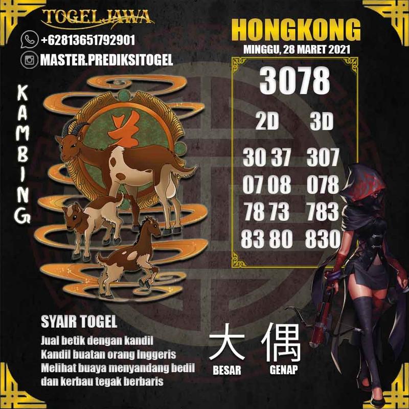 Prediksi Hongkong Tanggal 2021-03-28