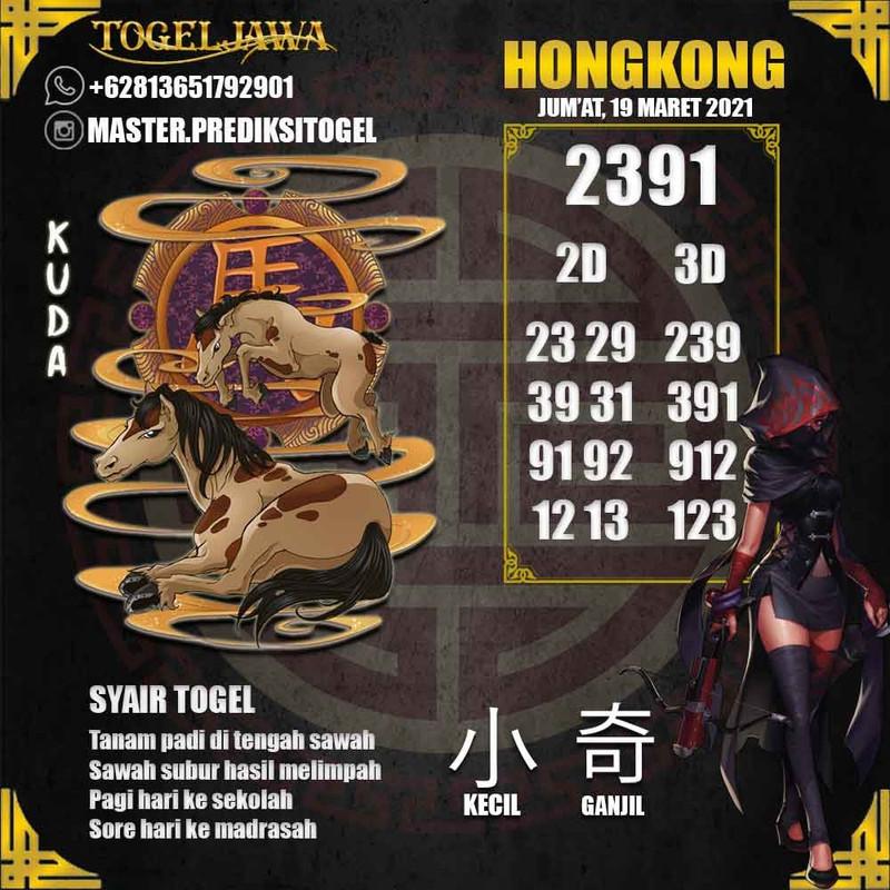 Prediksi Hongkong Tanggal 2021-03-19